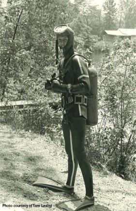Tom Leaird 1961 Dive #5